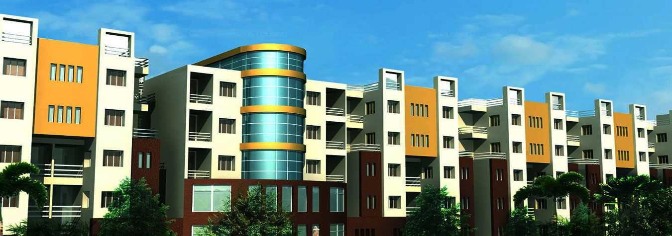 Gold Edge Village in Kolkata. New Residential Projects for Buy in Kolkata hindustanproperty.com.