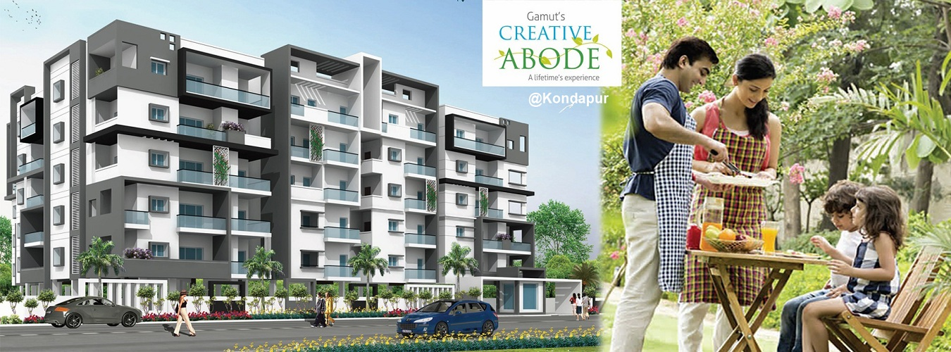Gamut Creative Abode in Hyderabad. New Residential Projects for Buy in Hyderabad hindustanproperty.com.