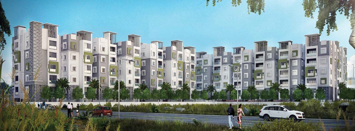 Jain Srikar Auroville in Hyderabad. New Residential Projects for Buy in Hyderabad hindustanproperty.com.