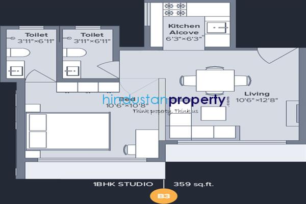 flat / apartment, thane, dombivli east, image