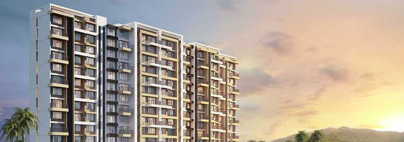 Waterfront at Kalpataru Riverside in Panvel. New Residential Projects for Buy in Panvel hindustanproperty.com.